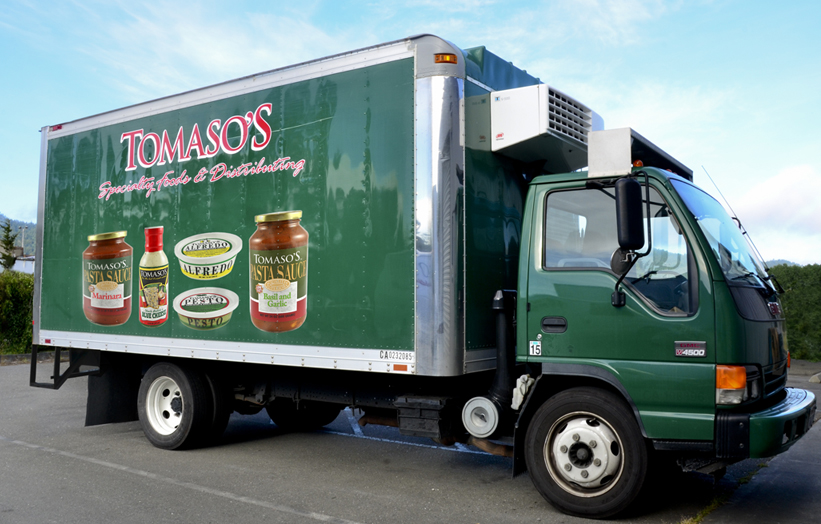 Tomaso's Delivery Trucks